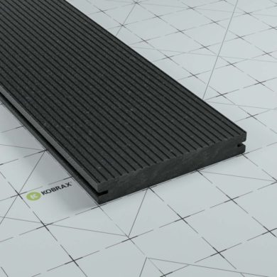 KobraX WPC BASIC Terrassendielen Anthrazit