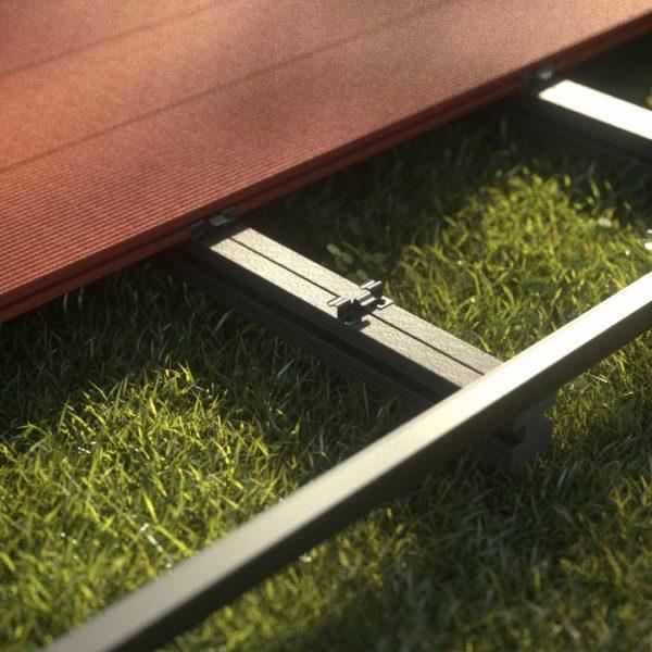 kobrax wpc terrase komplettset bankirai 2 600x600 - KobraX WPC Terrasse BASIC – Bankirai 3x3m