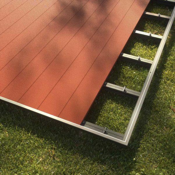 kobrax wpc terrase komplettset bankirai 3 600x600 - KobraX WPC Terrasse BASIC – Bankirai 3x3m