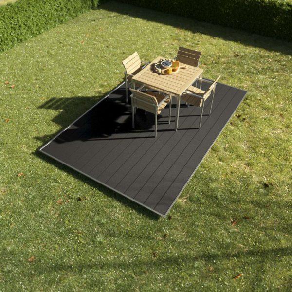 Kosche Exterior Wiese Angebot 2x3 Anthrazit 600x600 - KobraX WPC Terrasse LIGHT – 2x3m