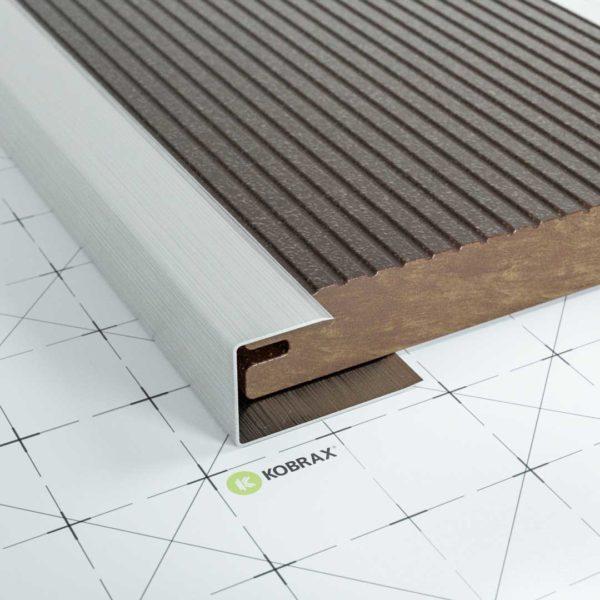 KobraX Terrasse – Alu Seitenabschluss (2,5 m)