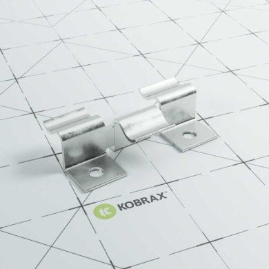 kobrax wpc terrasse montage clips 390x390 - KobraX WPC Terrasse LIGHT – Ebenholz Komplettset