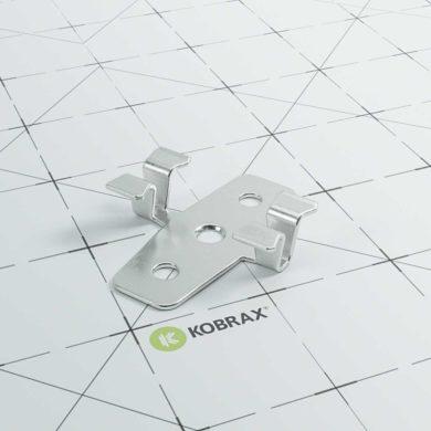 kobrax wpc terrasse premium montage clips 390x390 - KobraX WPC Terrasse PREMIUM – Ebenholz Komplettset