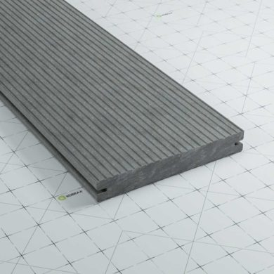 kobrax wpc terrassendielen basic basaltgrau 390x390 - KobraX WPC Basic Dielen Restposten je 600 cm