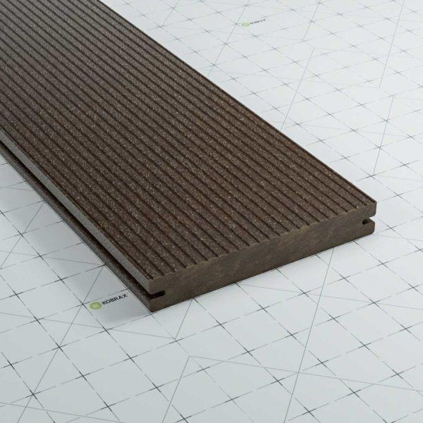 KobraX WPC BASIC Terrassendielen Ebenholz lfm.
