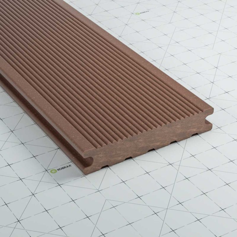 kobrax wpc terrassendielen premium bankirai 800x800 - KobraX WPC Terrasse BASIC – Ebenholz 3x3m